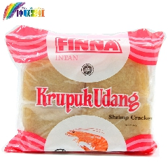买2减2元印尼进口菲那菲娜虾味木薯片油炸大虾片龙虾片零食品400g