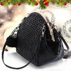 爱情宣言女士包包2015秋冬新款时尚潮流贝壳包单肩手提斜挎包女包