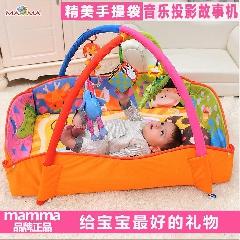 婴儿礼盒新生儿礼物音乐游戏毯健身玩具宝宝百天满月送礼母婴用品