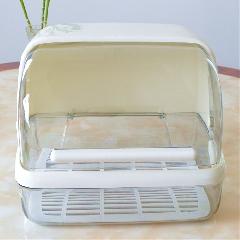 25省包邮 宝宝餐具保洁盆母婴用品翻盖存放箱奶瓶奶嘴碗筷收纳盒